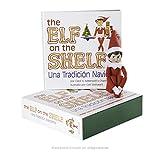 The Elf on the Shelf: Una tradición navideña (Incluye tono de piel claro niña Elf y un libro especial en Español)