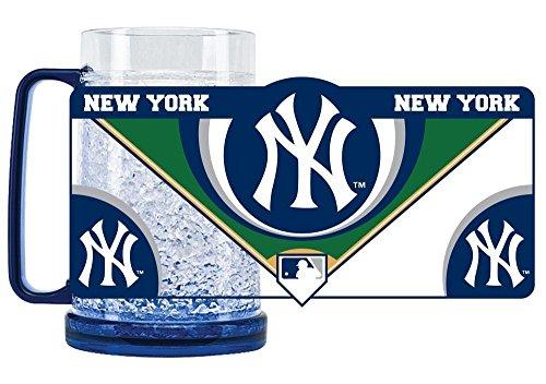 New York Yankees Crystal Freezer Mug