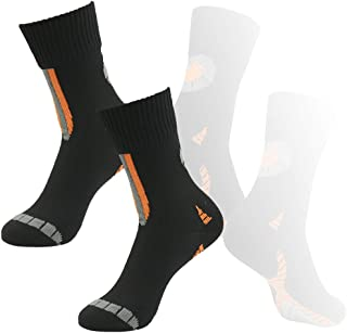 RANDY SUN 100% Waterproof Socks, Unisex Cycling/Hunting/Fishing/Running Ankle/Mid Calf Socks