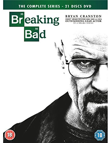 Breaking Bad - Season 01 / Breaking Bad - Season 02 / Breaking Bad - Season 03 / Breaking Bad - Season 04 / Breaking Bad - Season 05 / Breaking Bad - Final Season - Set [Import italien]