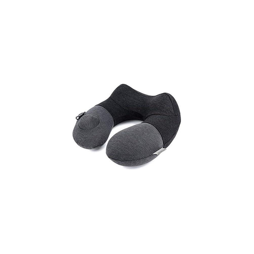 銀行野心チューブSGLI U字型の枕自動インフレータブル枕旅行航空機プレスネック枕ポータブル睡眠枕頚椎枕 U字型の枕