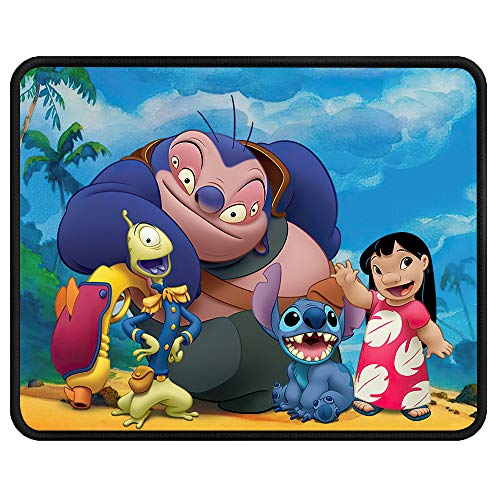 S_titch Mouse Pad - Lilo and S_titch Mouse Pads Cute Waterproof Anti-Slip Rubber Mouse Mat Pads for Kids Laptops Computer Pc 11.81 x 9.84 x 0.12Inch