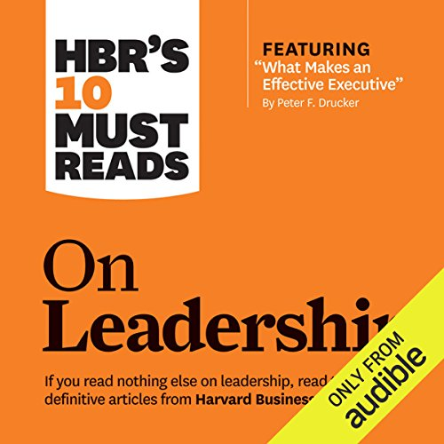 HBR's 10 Must Reads on Leadership cover art