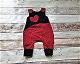 Baby Strampler Babyhose Overall Latzhose Babykleidung Frühchen Newborn Erstlingsausstattung Füßchen Knopfleiste Junge Mädchen