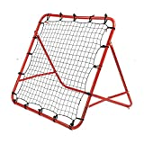 DHOUTDOORS Filet de Rebond de Football Ajustable pour Enfant -Filets de Remplacement pour Buts de Football -Filet de Rebond de Football 100 x 100cm