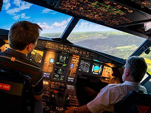Erlebnisfabrik Flugsimulator A320 in Dresden, Leipzig und Berlin als Geschenkbox (Flugsimulator A320 in Leipzig)