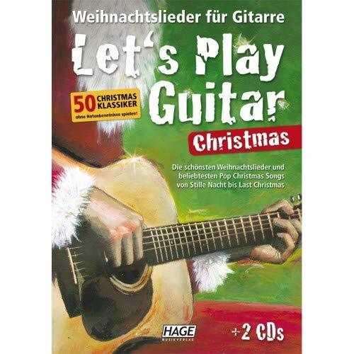 Edition Hage Let's Play Guitar Christmas