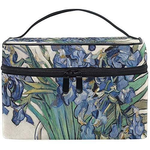 Grand Voyage Van Gogh Transportant Étui De Train Portable Zip Cosmétique Brosse Sac Maquillage Sac Organisateur