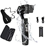 Hohem iSteady Pro 3, 3-Axis Handheld Gimbal Stabilizer for Action Cameras GoPro Hero 8/7/6/5/4/3 DJI OSMO Action Insta360 One R Sony RX0 YI Cam, GoPro Control 12hrs Battery Life