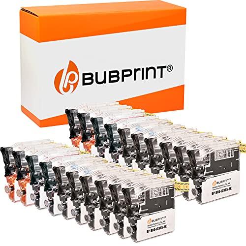 Bubprint Kompatibel Druckerpatronen als Ersatz für Brother LC-985 für DCP-J125 DCP-J140W DCP-J315W DCP-J515W MFC-J220 MFC-J265W MFC-J410 MFC-J415W Multipack 20er-Pack