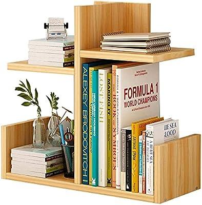 Household Simple Desktop Bookshelf, Creative Storage Bookcase Student Home Storage Shelf