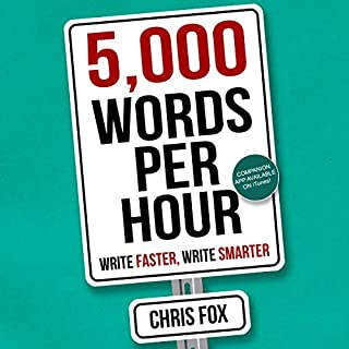 5,000 Words Per Hour audiobook cover art