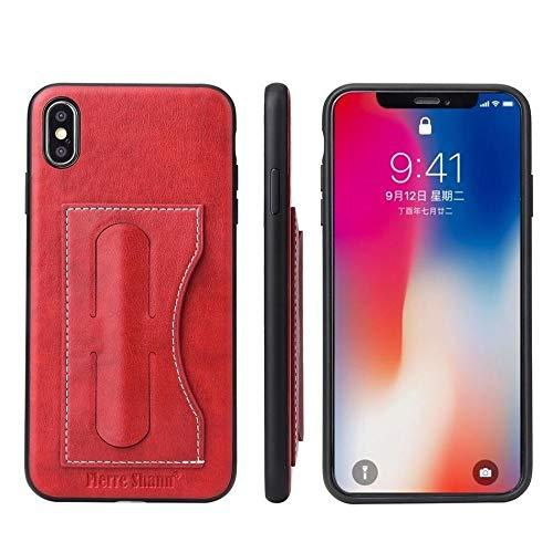 GHC Fundas & Covers para iPhone 12/12 Pro/Pro 12 MAX 12 Mini, Caso de la Cubierta de Las Ranuras para Tarjeta de Cuero Genuino para iPhone 11 12 12 Pro MAX Mini