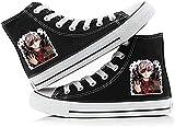 Tokyo Ghoul - Zapato de lona transpirable para cosplay y estudiantes, adultos, hombres, mujeres, primavera, verano, casual, talla 8.5UK