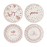 Royal Doulton Holiday Tableware Accent Plate 8' Set/4