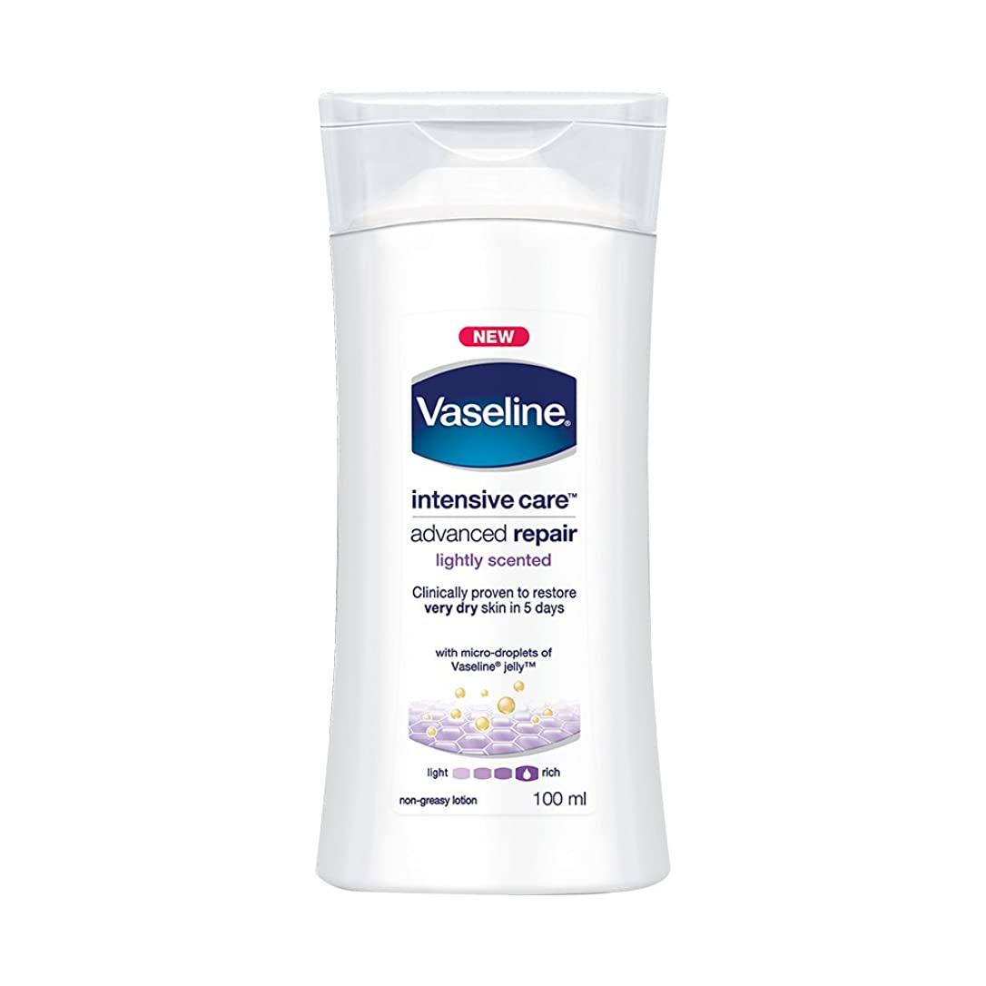 心からピザ水っぽいVaseline Intensive Care Advanced Repair Body Lotion, 100ml
