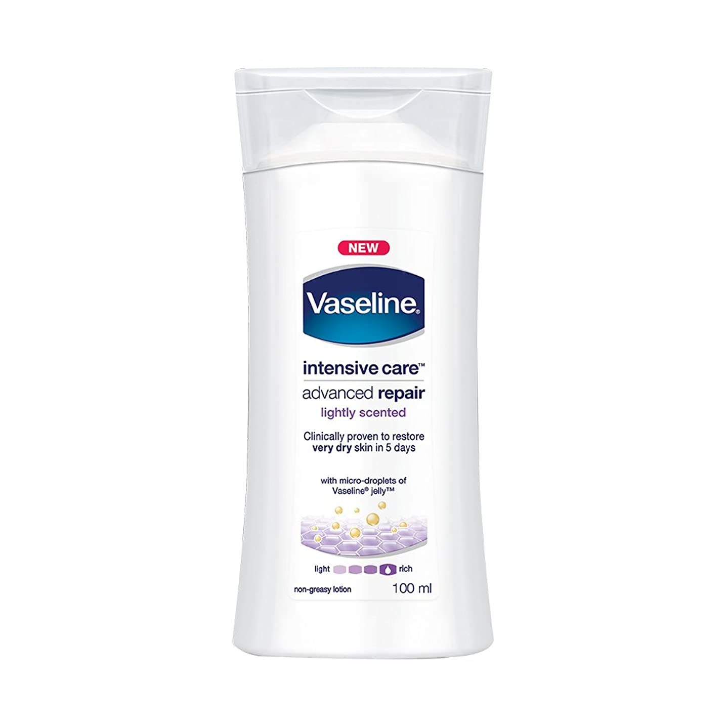 アンドリューハリディ強制内部Vaseline Intensive Care Advanced Repair Body Lotion, 100ml