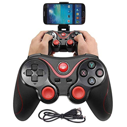GSH Wireless Controller Support for Andriod Phone Smart Box Smart TV & PC X3 Bluetooth Wireless Gamepad Controller Handle For Android Smartphone