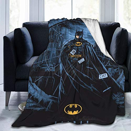 KGSPK Ultra-Soft Micro Fleece Blanket,Bat-Man 88,Home Decor Warm Throw Blanket for Couch Bed,60'X 50'