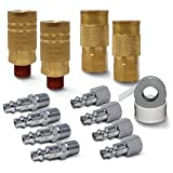 JACO Industrial Quick Connect Air Hose Fittings...