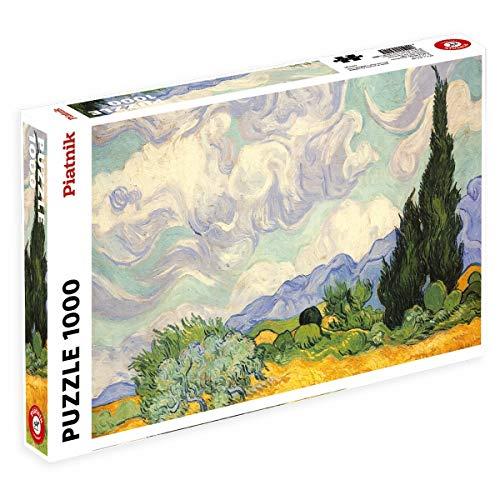 Piatnik Van Gogh Wheat Field with Cypresses Puzzle, 1000 Pezzi