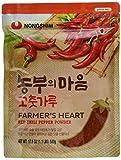 Nong Shim Farmer's Heart Red Chili Pepper Powder – Rotes Paprikapulver zum Würzen zahlreicher...