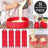 Anelli per torte, coppapasta tondi, Stampo Circolare in silicone Per Torte, torta Anello r...