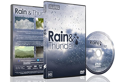 Natur DVD – Regen und Gewitter – Mit Natur- und Donnergeräuschen zur Entspannung