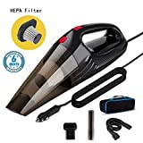 Voroly High Power Handheld Car Vacuum Cleaner for Car Dry and Wet DC12V