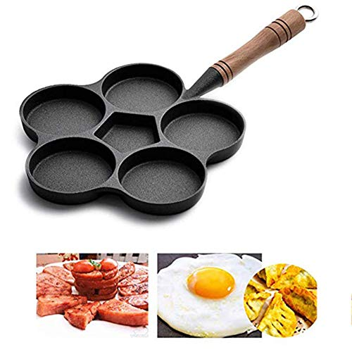 OOFAT Waffeleisen, Pancake-Maschine, Mini Waffeleisen Maschine, Für Pfannkuchen Kekse, Antihaftbeschichtung, Tiefkochplatten