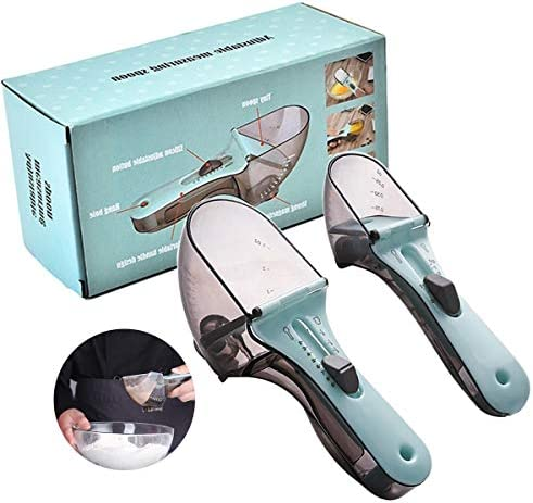 Adjustable Measuring Spoon Magnetic Measuring Cup and Spoon Set a Multi Tunctional Kitchen Tool product image