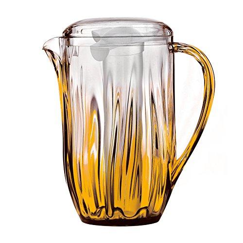 Guzzini enfriamiento jarra Iris De colour naranja-Ligawo, B de unos 24 cm