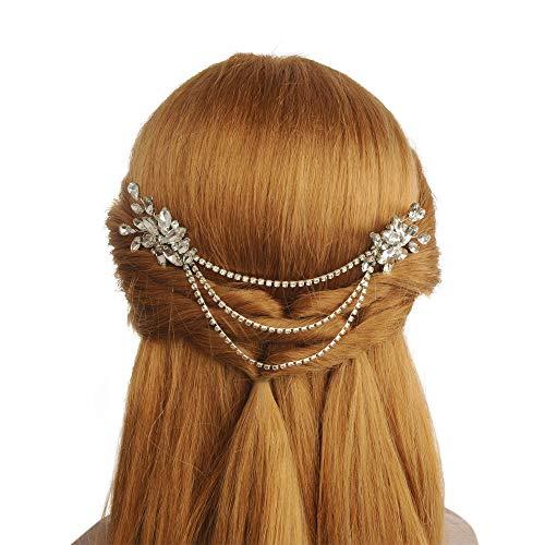 Topqueen bruidshoofdtooi diadeem meisjes kroon hartvorm voor bruiloft haarband hoofdtooi hoofdband tiara