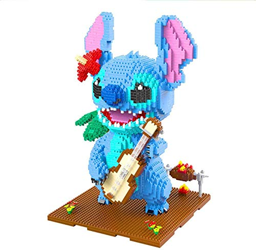 QSSQ Nano Block Stitch Building Set - Mini Pet Companion Nano Block Kit - 3D Puzzlespielzeug Für Jungen Und Mädchen, Geburtstagsgeschenke,D