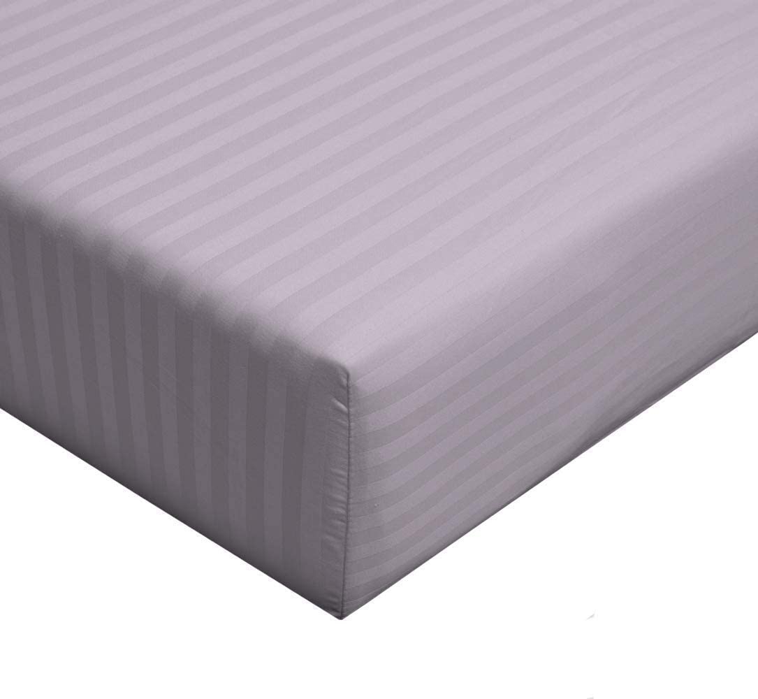 sheetsnthings-Luxury Black Full Size Fitted Sheet Sold Separately 100/% Cotton 300 Thread Count 54 W x 76 L