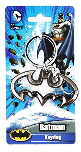 TIMECITY Batman Logo 1 Pewter (Porte-clés)