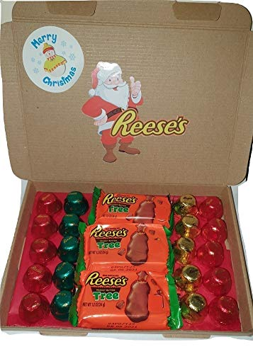 Reese's Peanut Butter Christmas Trees & Bells Box