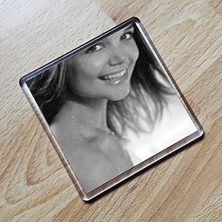 Katie Holmes - Original Art Coaster #js004