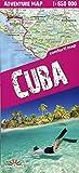 Cuba 1:650.000 plastificado (trekking map)