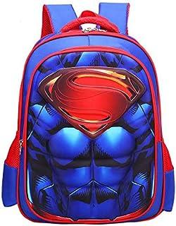 Children 3D School Bag cartoon Backpack for Boys and Girls Superhero Shoulder Bag Kid Backpacks Bag mm