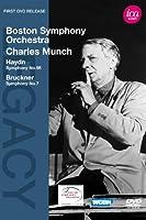 シャルル・ミュンシュ - ハイドン:交響曲第98番変ロ長調 Hob.I:98/ブルックナー:交響曲第7番ホ長調 [DVD]
