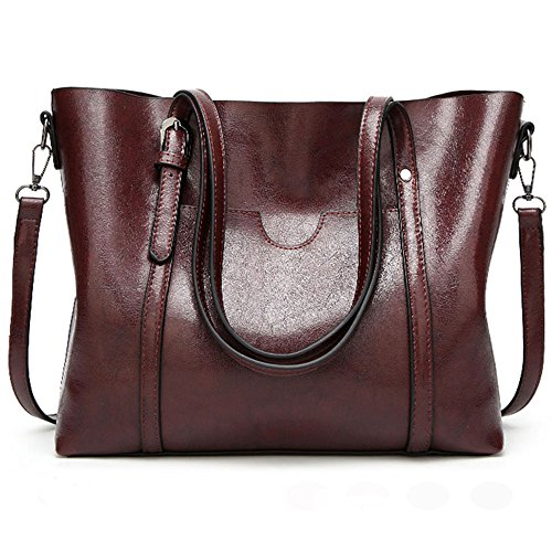 FiveloveTwo® Dames All-match Top-Handle Tassen Crossbody Schouder Hobo Satchel Tote Tassen Shopper Koppeling Handtassen portemonnee