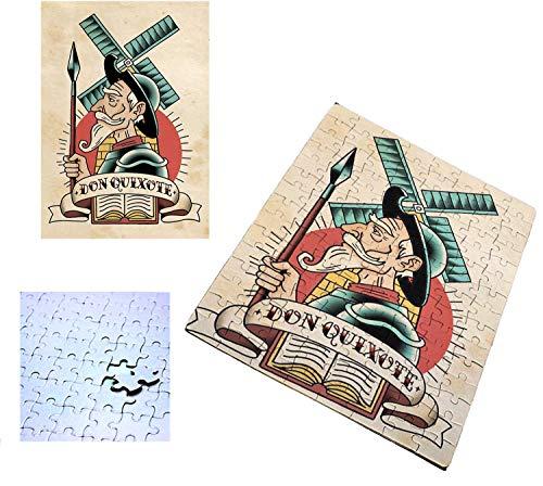 Puzzle Don Quijote 96 piezas