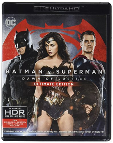 Batman v Superman: Dawn of Justice, Ultimate Edition [Blu-ray]
