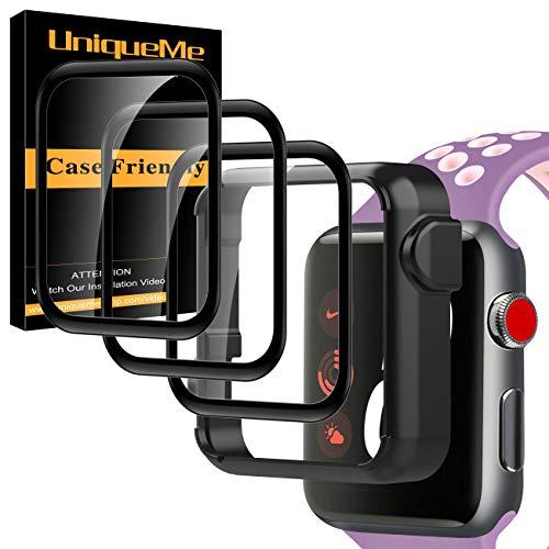 UniqueMe [3 Pezzi ] Pellicola Protettiva Compatibile con Apple Watch Series 6/5 / 4 / SE 40mm...