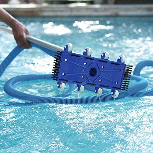 Xlcukx Manguera de vacío de alto rendimiento en el suelo, manguera de agua para piscina, resistente al agua, práctico – Conector flexible de manguera First-Rate