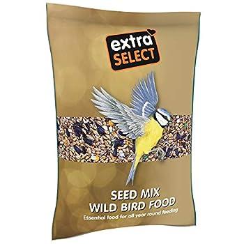 Extra Select Mélange de graines de Nourriture pour Oiseaux Sauvages, 2kg