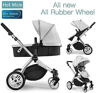 comprar comparacion Multi cochecito 2 en 1 Carrito Bebe Hot Mom silla de paseo el capazo se convierte fácilmente en una silla y viceversa 2020...