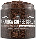 M3 Naturals Arabica Coffee Scrub Infused with Collagen and...