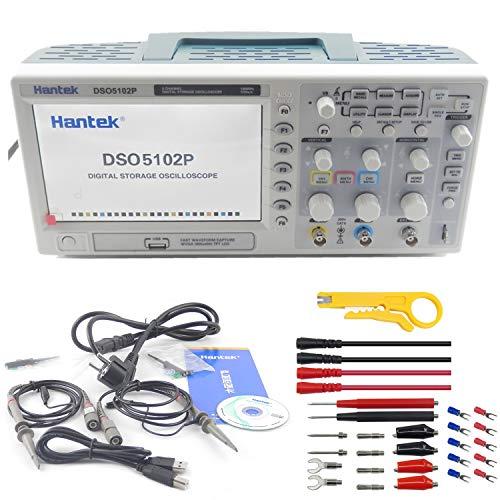 Hantek DSO5102P Digital Storage Oscilloscope USB 100MHz 1GSa/s 40K,2 Channel,2CH